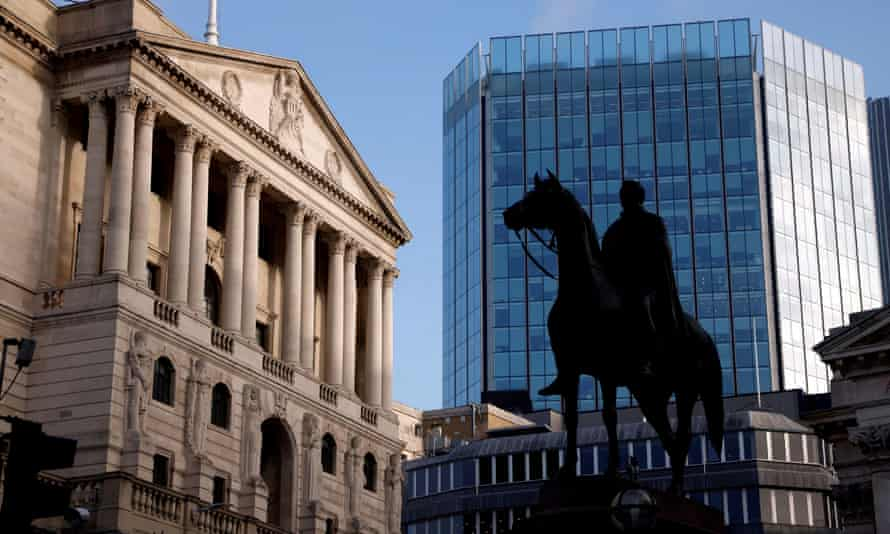 The Bank of England, City of London.