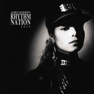 Janet Jackson: Rhythm Nation 1814 album artwork