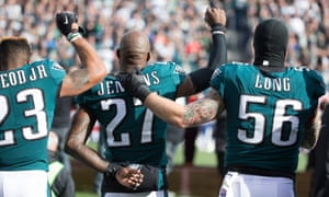 Malcolm Jenkins and Chris Long are prominent members of the Players' Coalition