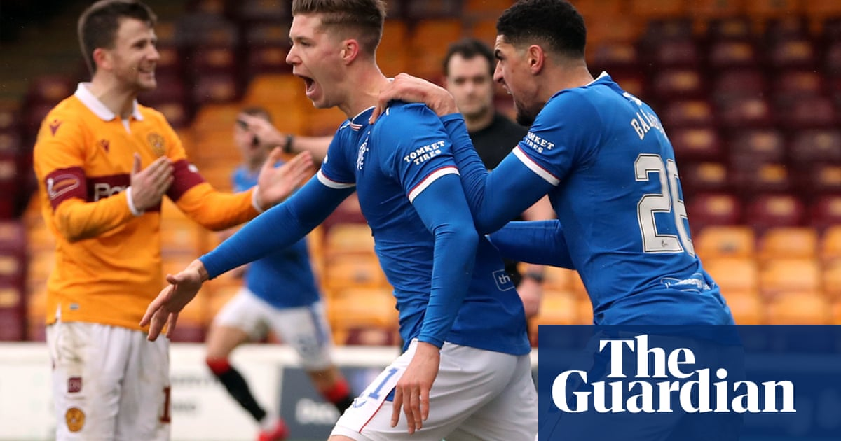 Cedric Itten rescues point for Rangers at Motherwell as Gerrards run ends
