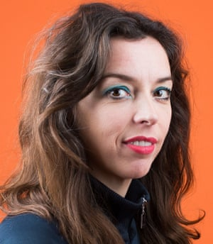 Head shot of standup comedian, actor and writer Bridget Christie
