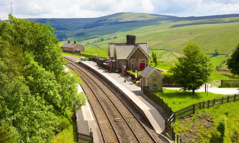 Kirkby Stephen is on the scenic Settle-Carlisle line. This is Dent station.