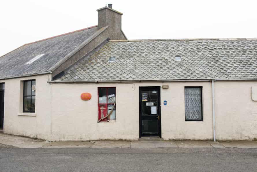 The North Ronaldsay post office