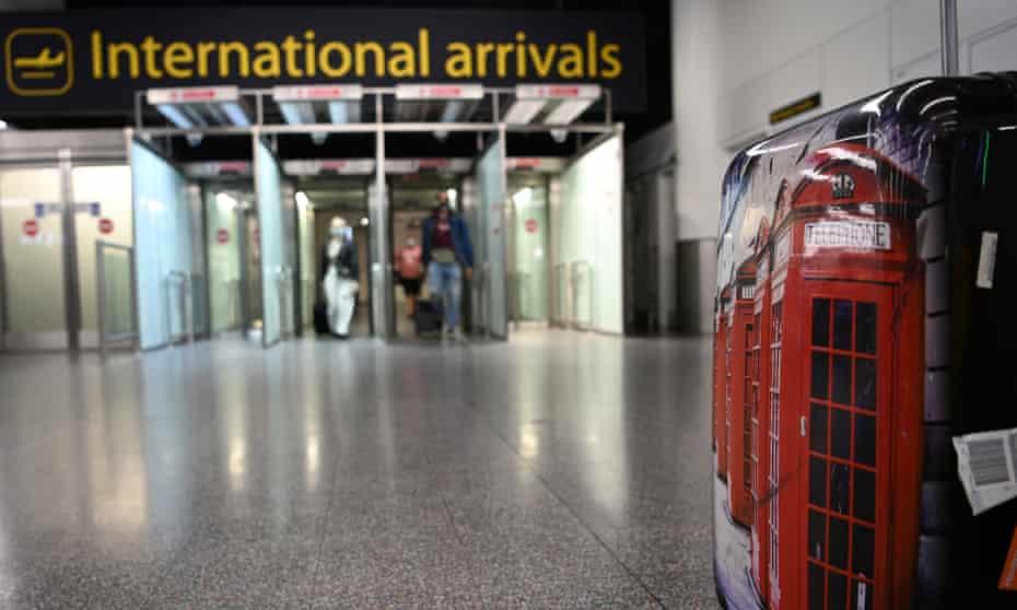 Gatwick international arrivals