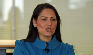 Priti Patel says Tory government not to blame for poverty ...