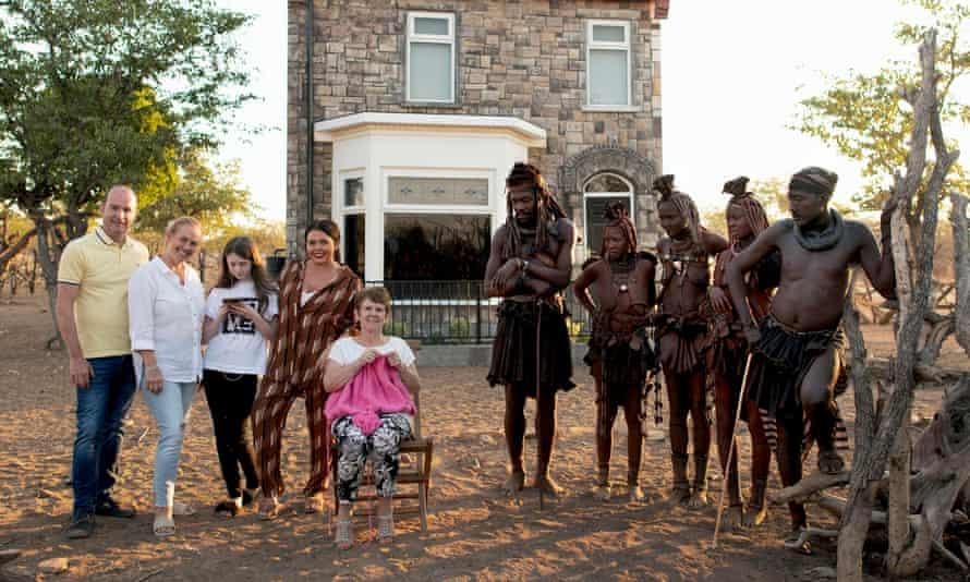 The Moffatts meet the Himba