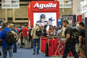 The Aguila booth