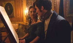 Jenna Coleman and Tom Hughes as Queen Victoria and Prince Albert in the ITV series Victoria.