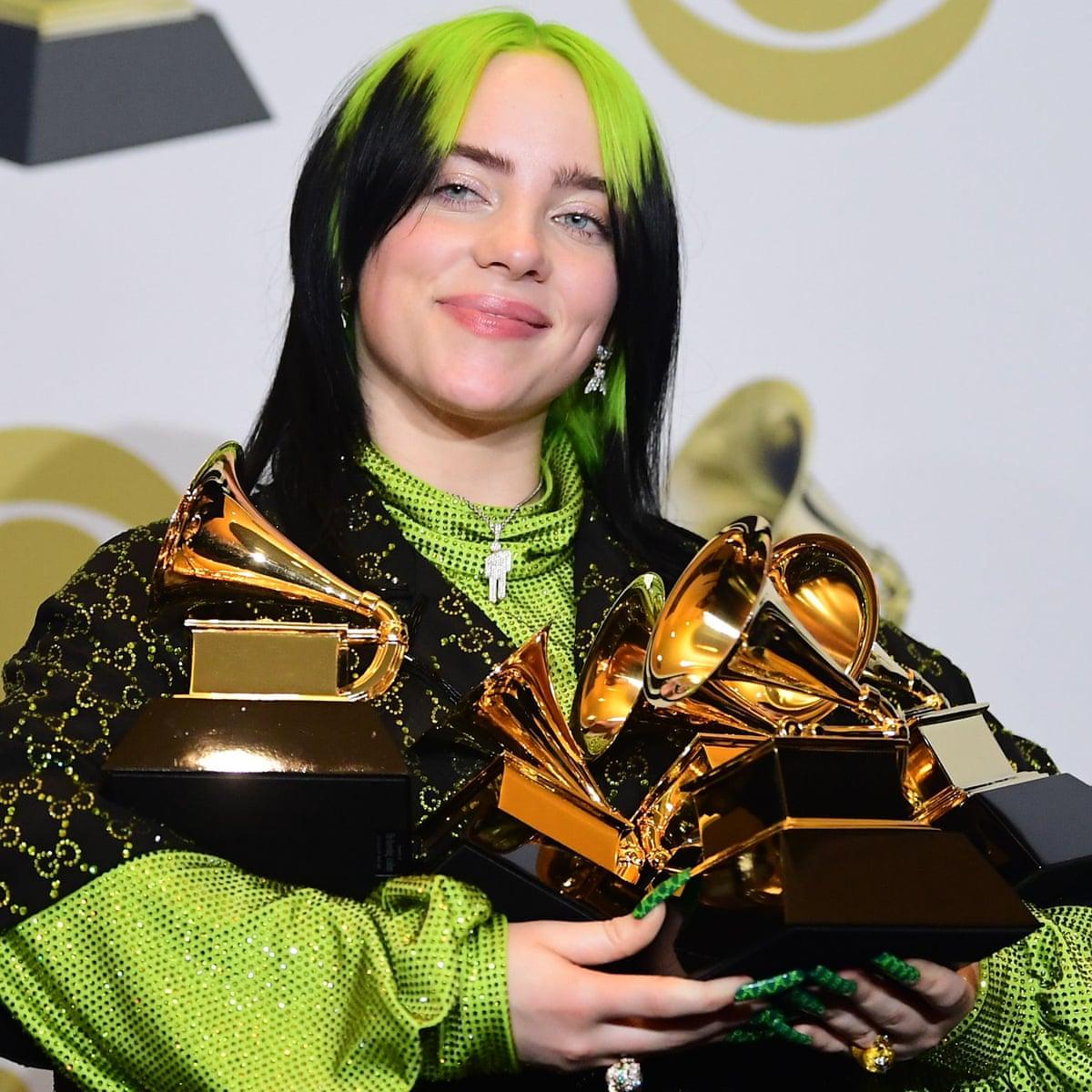 Grammy Awards 2020 Billie Eilish Wins Big Kobe Bryant Tributes Pour In Grammys The Guardian