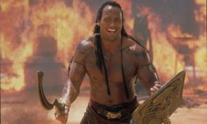 Dwayne Johnson in 2001's The Mummy Returns.