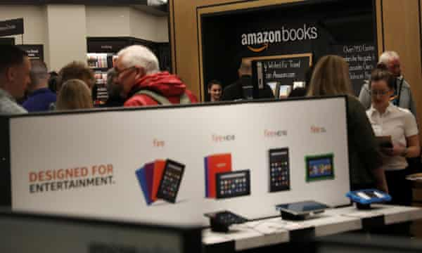 About one-quarter of the retail floor is given over to sales of non-books.