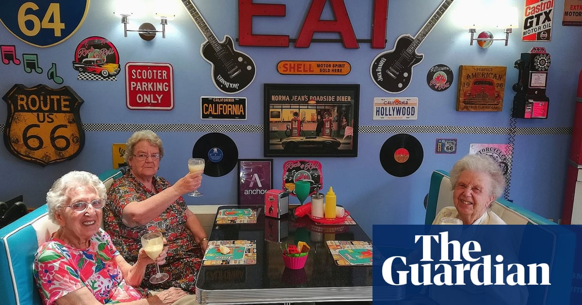 Back to the future: why my care home opened a 1950s-style diner