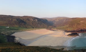 Kearvaig, with its own private, pristine beach.