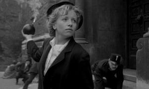 Touches of Buster Keaton … Dorota Segda in My 20th Century.