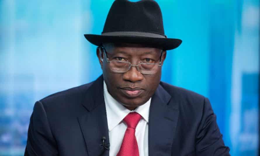 Nigeria's former president, Goodluck Jonathan