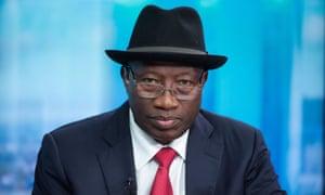 Nigeria's Former President Goodluck Jonathan.