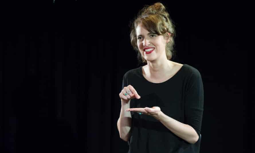 Phoebe Waller-Bridge in the stage version of Fleabag at London's Soho Theatre, September 2013.
