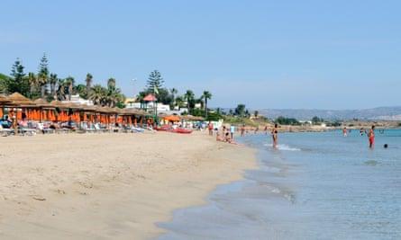 San Lorenzo beach, Costa Reitano