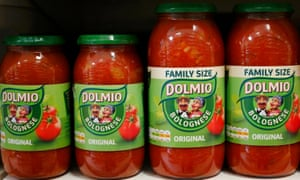 Mars Food will reformulate many of its best-known foods, including its Dolmio pasta sauces.