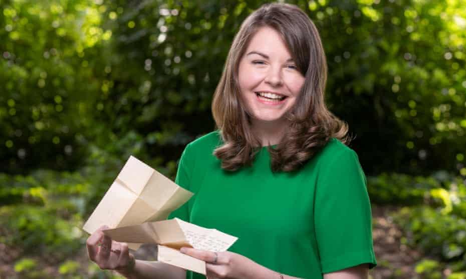 Pen-palling is 'an endurance sport' ... the Dublin-based prolific letter writer Liz Maguire.