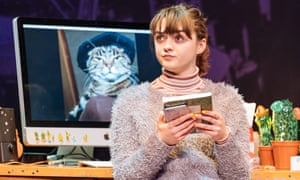 Maisie Williams (Caroline) in I and You at Hampstead Theatre.