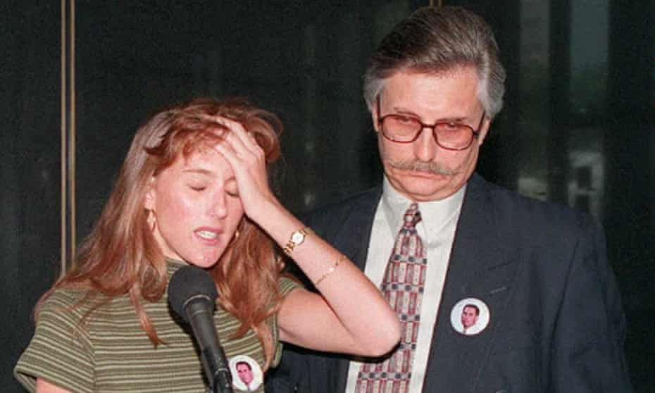 Fred and Kim Goldman, the father and sister of Ron Goldman