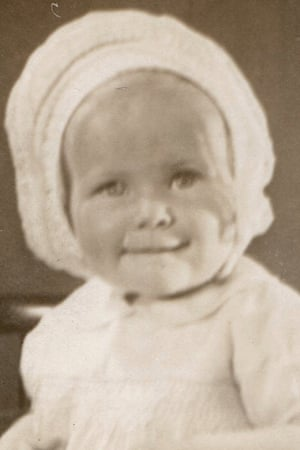 Janet Denny as a baby