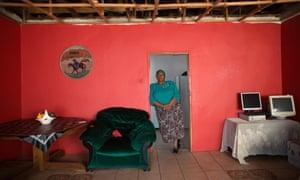 Ntsiki Makhubu at her home in Soweto, June 2016.
