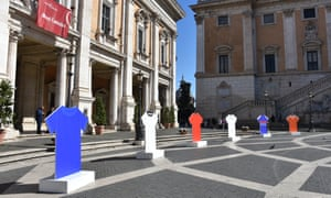 The Euro 2020 100-day countdown was launched in Rome on 4 March. Now the tournament may be pushed back until 2021.