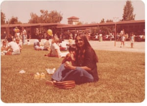 Mohsin Hamid with his mother in California, 1978.