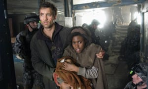 Direct descendent … … Clive Owen and Claire-Hope Ashitey in Children of Men.