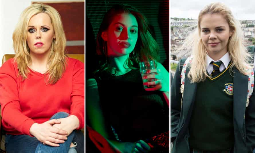 Game changers: Roisin Conaty in GameFace, Seana Kerslake in Can't Cope, Won't Cope, and Saoirse-Monica Jackson in Derry Girls