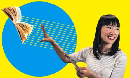 Marie Kondo, star of the Netflix series Tidying Up With Marie Kondo.