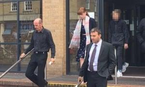 Stuart Holmes, Michaela Tasker and Martyn Tasker