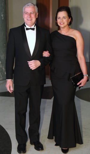 Michael McCormack and Catherine McCormack