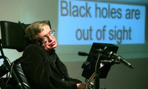 The physicist Stephen Hawking in 2006.