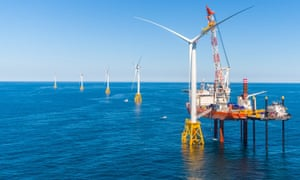 The close to $300m Block Island project, which came online yesterday, is the very first wind farm in US waters.