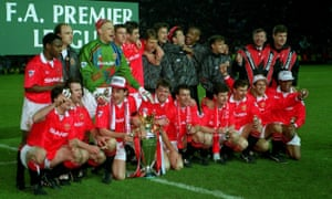 The very first team to win a Premier League title.