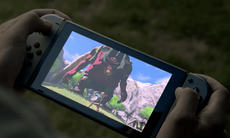 Heavyweight titles … the new Zelda game will be launched on the Nintendo Switch.