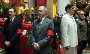 Black-as-pitch satire … The Death of Stalin