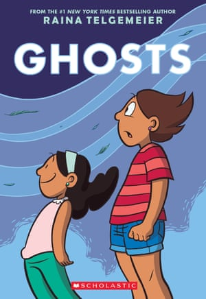 Ghosts by Raina Telgemeir (September, Scholastic)
