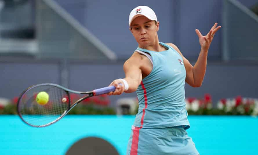 Ashleigh Barty beat Iga Swiatek at the Madrid Open victory this month. The pair are seeded to meet in the French Open semi-final.