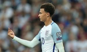 fifa opens dele alli disciplinary case over one finger salute in