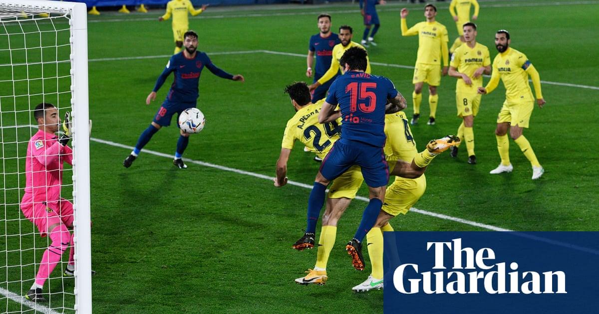 Atlético suffer and survive on La Ligas weekend of pressure games | Sid Lowe
