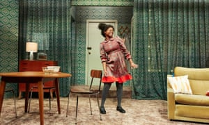 Kudzai Sitima as Princess in Princess & the Hustler at Bristol Old Vic.