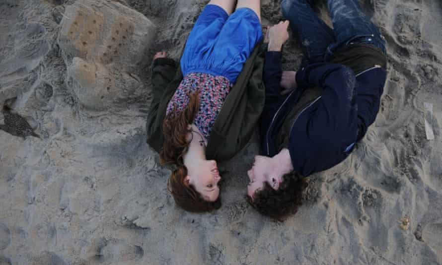 Felicity Jones and Anton Yelchin in Like Crazy.