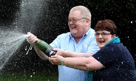 Scottish EuroMillions lottery winners Colin and Chris Weir top the list, giving £6.5m to the SNP and Yes Scotland campaign.