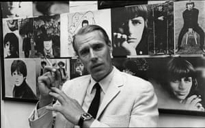 Martin backed by images of the Beatles. The producer had more claim than any other to the unofficial title of 'fifth Beatle'.