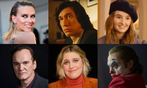 Scarlett Johansson, Adam Driver, Kaitlyn Dever, Quentin Tarantino, Greta Gerwig, Joaquin Phoenix … all up for film awards this year.