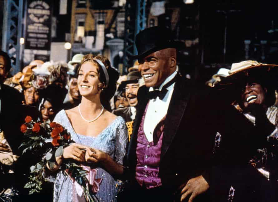 Jane Alexander and James Earl Jones, The Great White Hope, 1970.